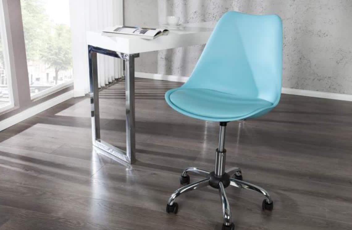 Na farebné kancelárske stoličky sa nielen dobre pozerá, ale ešte lepšie sa na nich sedí. Zdroj: iKuchyne.sk