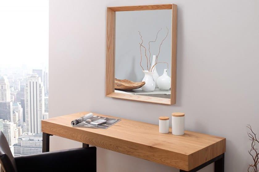 Zrkadlo Oak pôsobí možno na prvý pohľad nenápadne, ale opak je pravdou. Zdroj: iKuchyne.sk