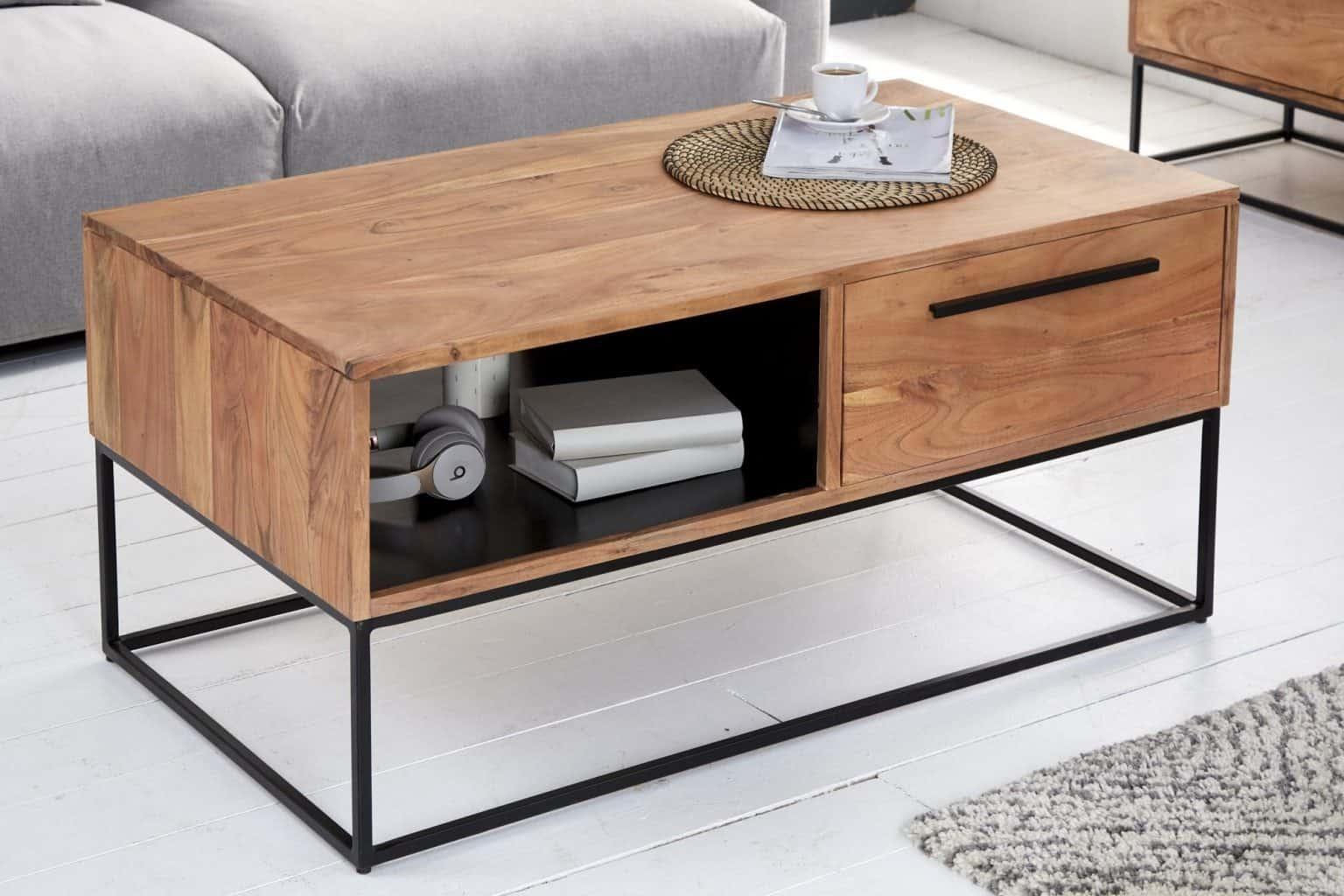 Konferečný stolík s úložným priestorom. Zdroj: iKuchyne.sk