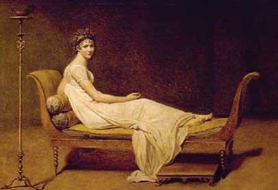 Maliar Jacques-Louis David zachytil krásu ženy na leňoške v roku 1800. Foto: Trexfurniture.com
