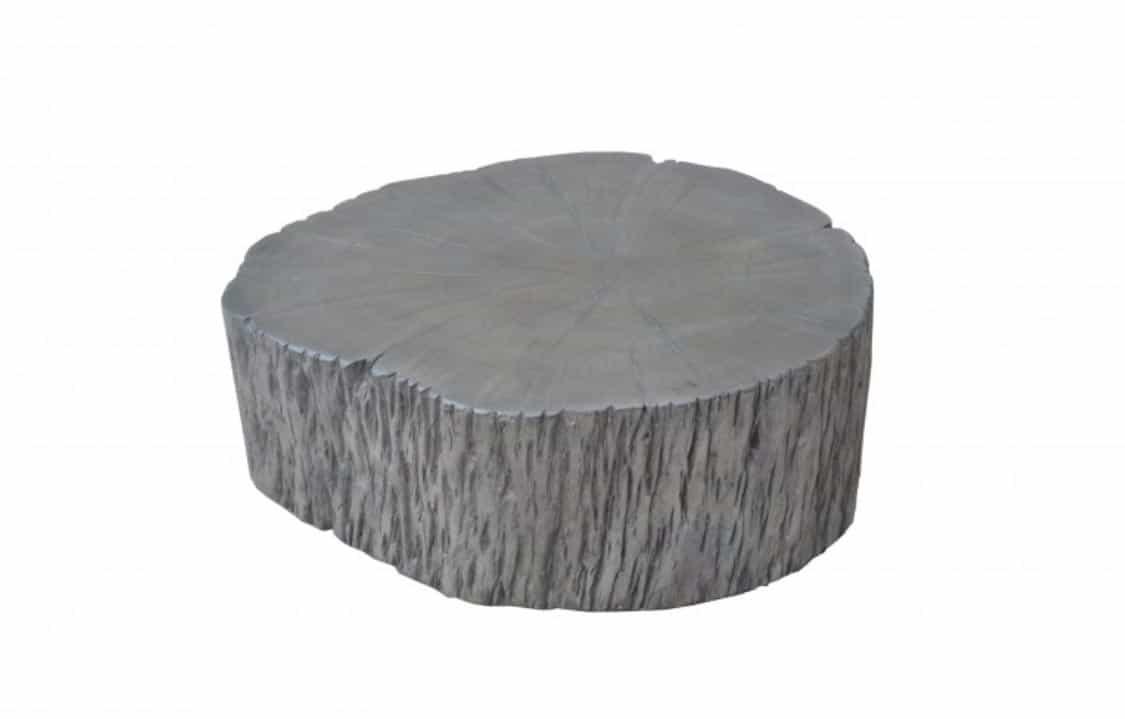 Nezameniteľnú dávku originality so sebou prinesie aj stolík v sivej farbe. Zdroj: iKuchyne.sk