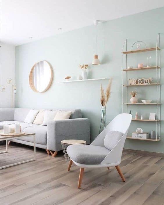Škandinávsky štýl, kde v jednoduchosti je krása. Zdroj: Pinterest.com