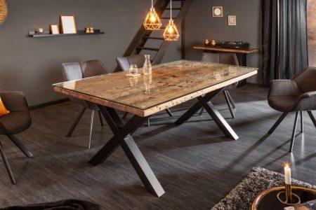 Jedálenský stôl Barracuda X 180cm prírodný