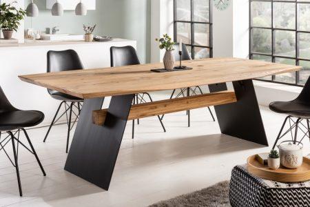 Jedálenský stôl Grand Oak 240cm divý dub prírodný