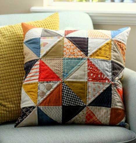 Ako na patchwork techniku v interiérovom bývaní? Zdroj: Pinterest.com