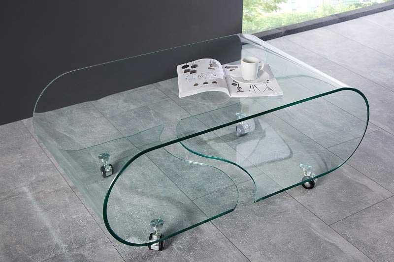 Sklenený nábytok v rôznej podobe a tvare. Určite si vyberiete aj vy. Zdroj: iKuchyne.sk