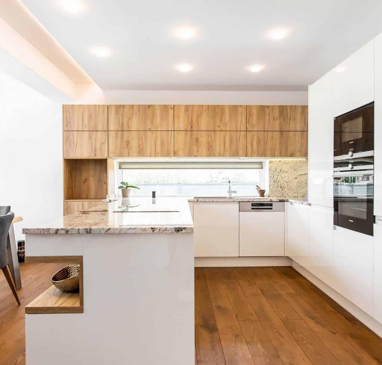Najkrajšie drevené kuchyne roku 2021. Zdroj: iKuchyne.sk