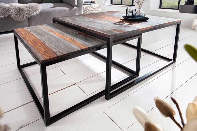 Siahnite po dvojitom stolíku, ktorý nielen dobre vyzerá, ale je aj praktickým a funkčným kusom nábytku. Zdroj: iKuchyne.sk