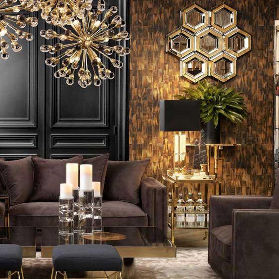 5 tipov, ako na luxusný interiér. Zdroj: Pinterest.com