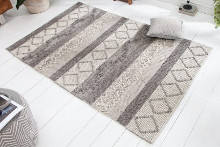 Teppich Yarn 240x160 cm sivá