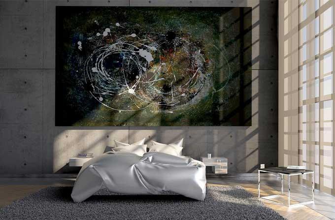Aj doplnky do spálne a farba stien vplýva na to, ako sa budete vo vašej spálni cítiť. Zdroj: Pixabay.com