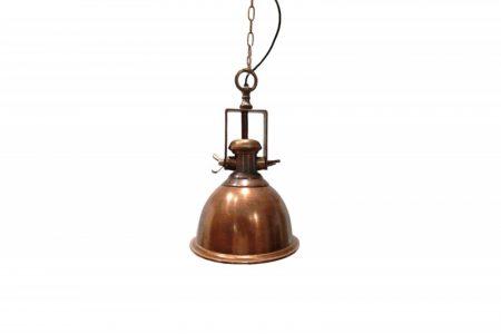 Závesná lampa Industrial meď