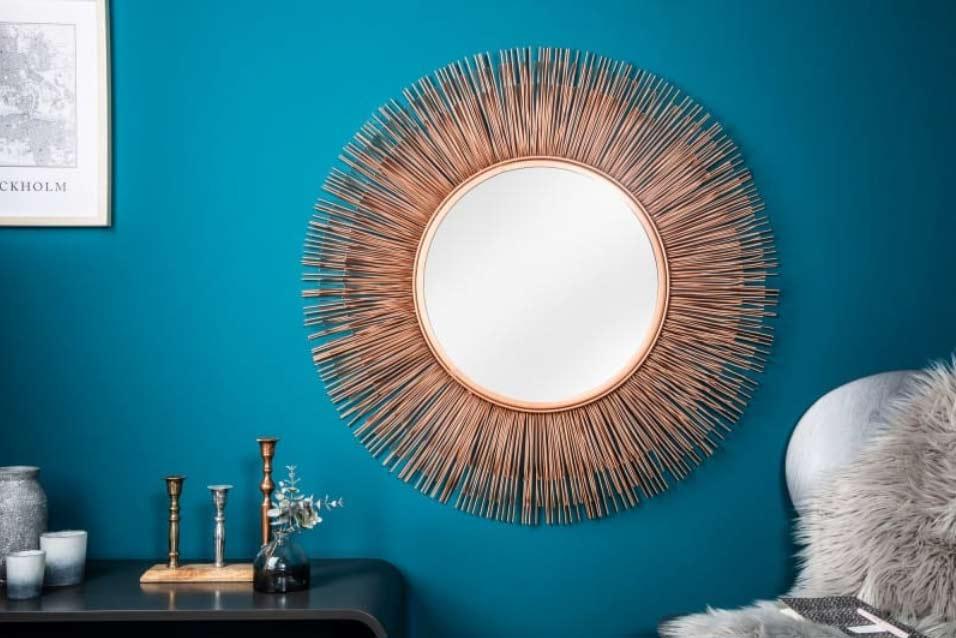 Zrkadlo Sunglight pripomína svojím tvarom slnko. Zdroj: iKuchyne.sk