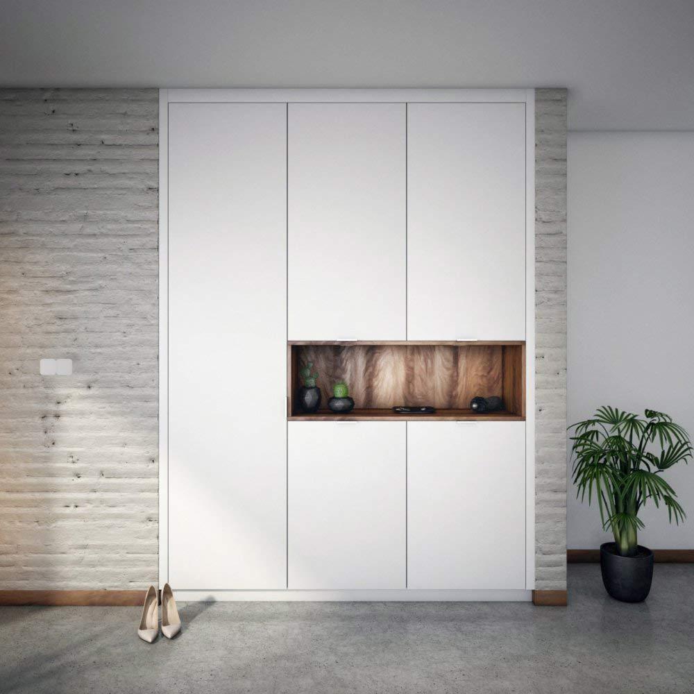 Na mieru vstavaný nábytok ponúka neobmedzené možnosti. Zdroj: iKuchyne.sk