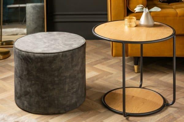 Konferenčný stolík Studio 55cm dub / Taburet