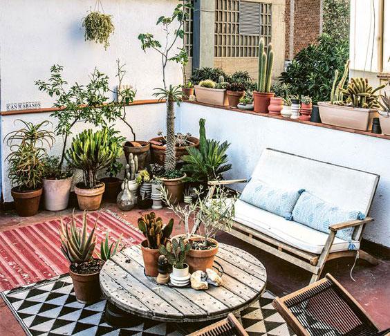 Čo dominuje terasám v roku 2021? Zdroj: Pinterest.com
