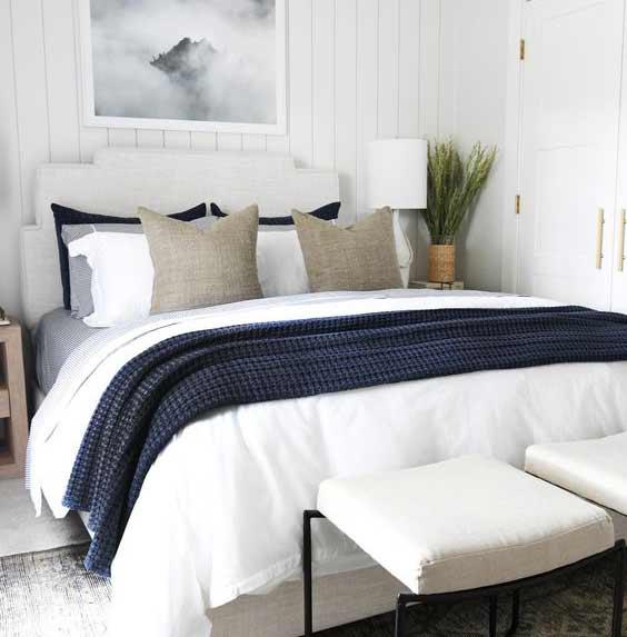 Nie je u vás hosťovská izba a návšteva klope na dvere? Prinášame skvelé dizajnové nápady! Zdroj: Pinterest.com