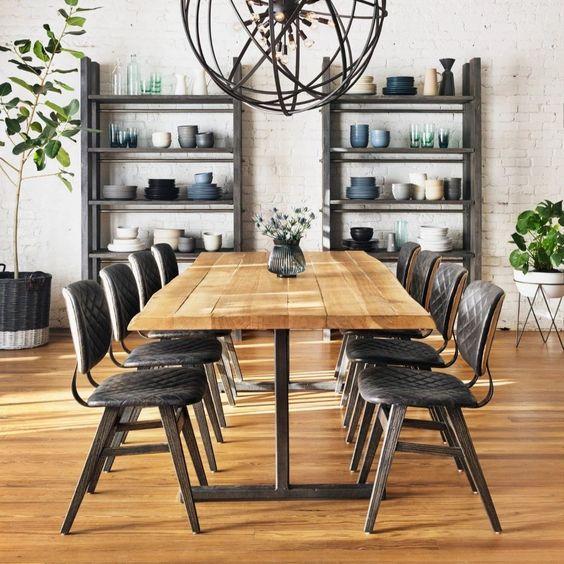Drevo ako ústredný prvok v interiéri. Vyberte si jedálenský stôl, ktorý si zamilujete. Zdroj: iKuchyne.sk