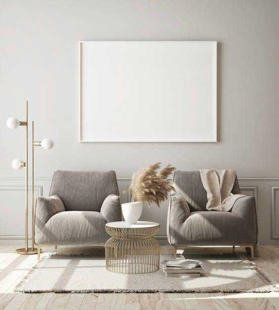 Klasický monochromatický interiér v šedej farbe pôsobí útulne. Zdroj: Pinterest.com