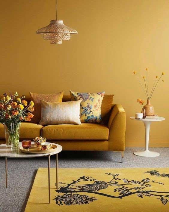 Pri výraznejších farbách môže byť práca s kontrastom náročnejšia. Zdroj: Pinterest.com
