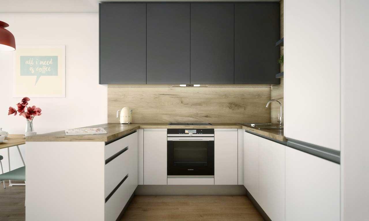 Digestor sa postará o zníženie a minimalizovanie vlhkosti v kuchyni. Zdroj: iKuchyne.sk