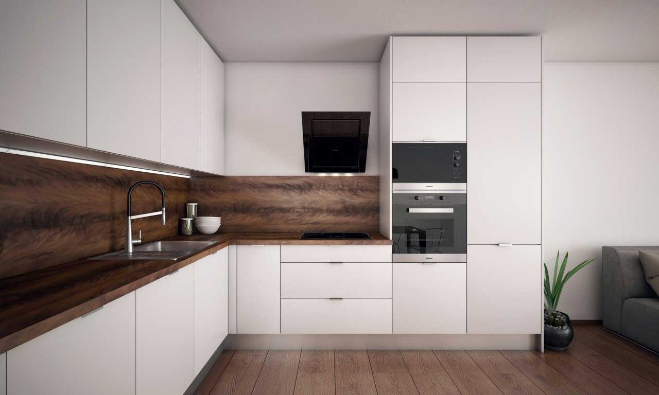 Takýto čierny digestor môžete mať aj vy vo svojej kuchyni. Zdroj: iKuchyne.sk