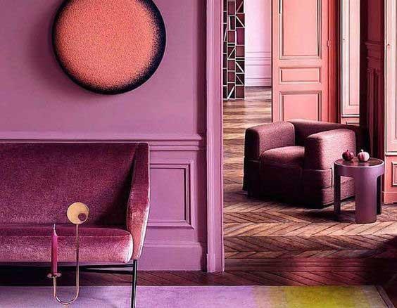 Monochromatický interiér nesklame klasikov. Zdroj: Pinterest.com