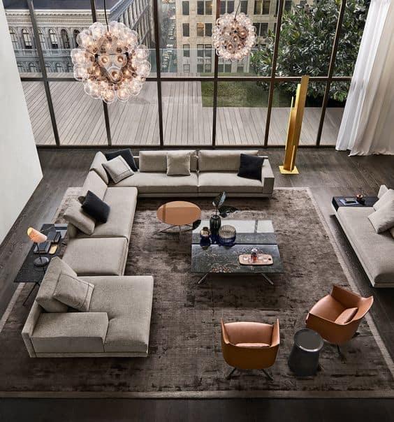 Ako na futuristický štýl v obývačke? Zdroj: Pinterest.com