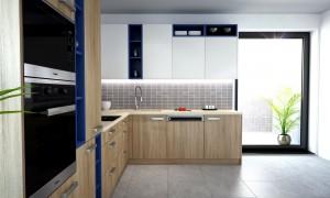 riešenie a usporiadanie kuchyne