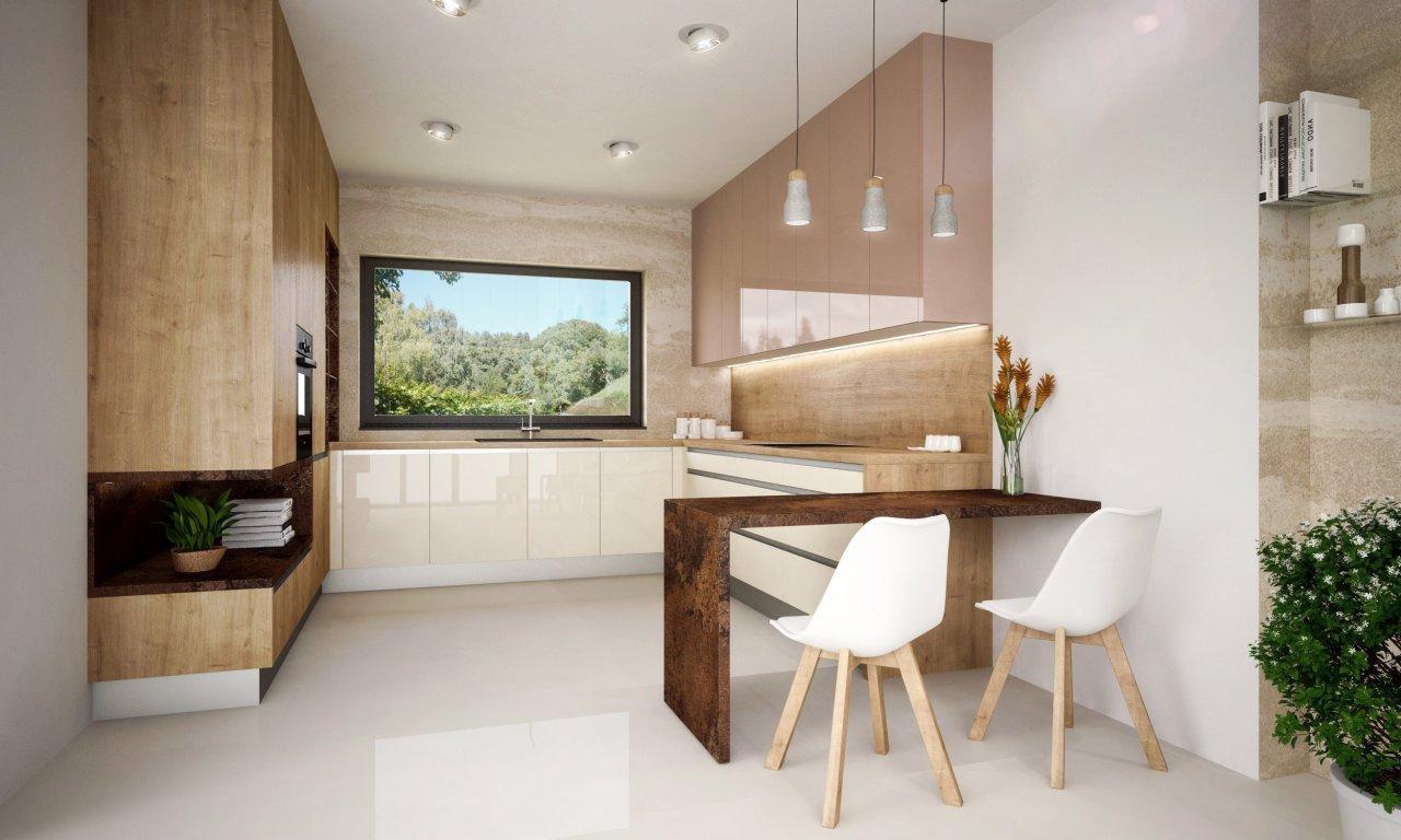 Drevené kuchyne 04