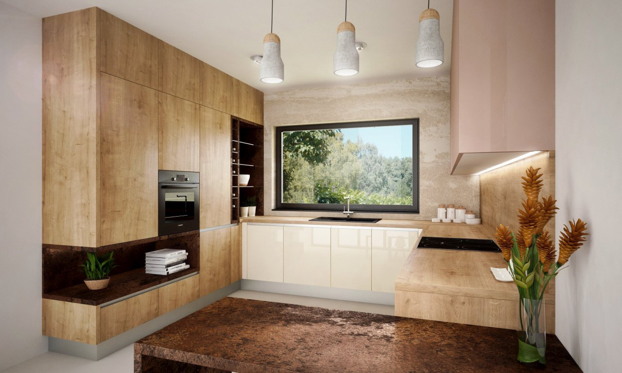 Drevené kuchyne 05