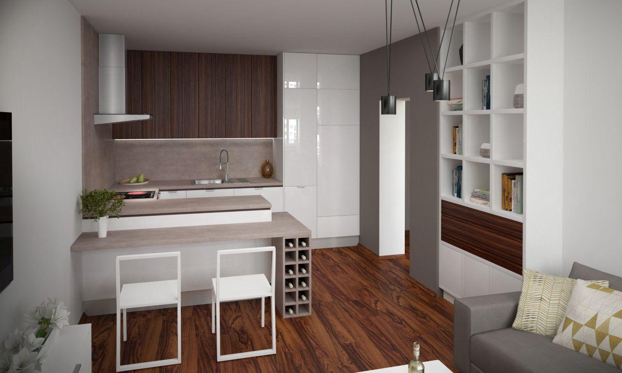 Kuchyňa s obývačkou 06