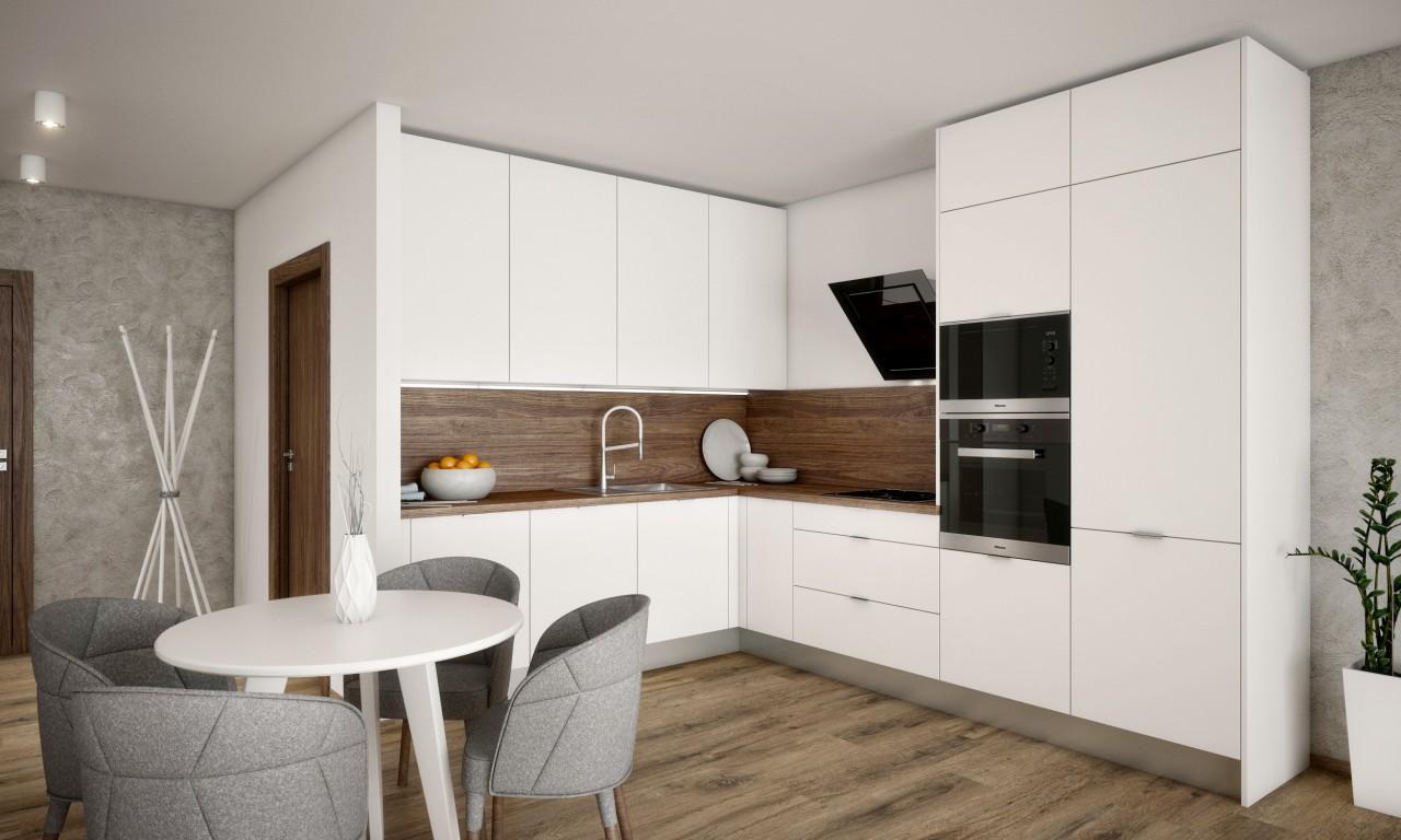 Malé Krasňany 2-izbový byt - riešenie A2