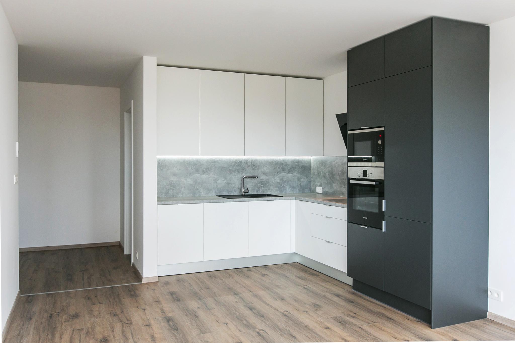 Malé Krasňany BD5 - realizácia kuchyne - 2-izbový byt