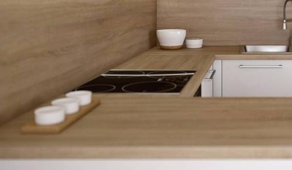 Kuchyne na mieru - neviditeľný spoj pracovných dosiek