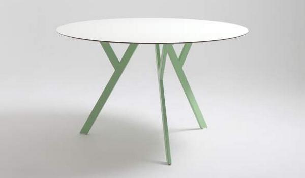 Kuchyne na mieru - okrúhly jedálenský stôl