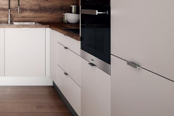 Lacné kuchyne - detail úchytiek
