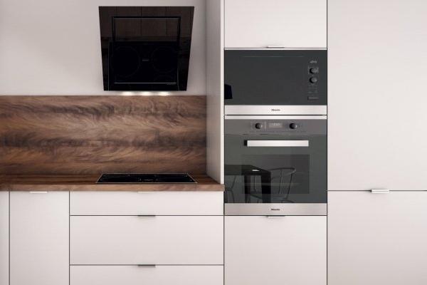 Lacné kuchyne - detail spotrebičov v ideálnej výške