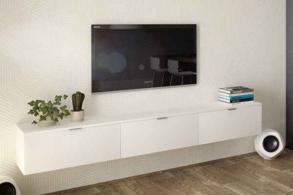Obývačka prepojená s modernou kuchyňou