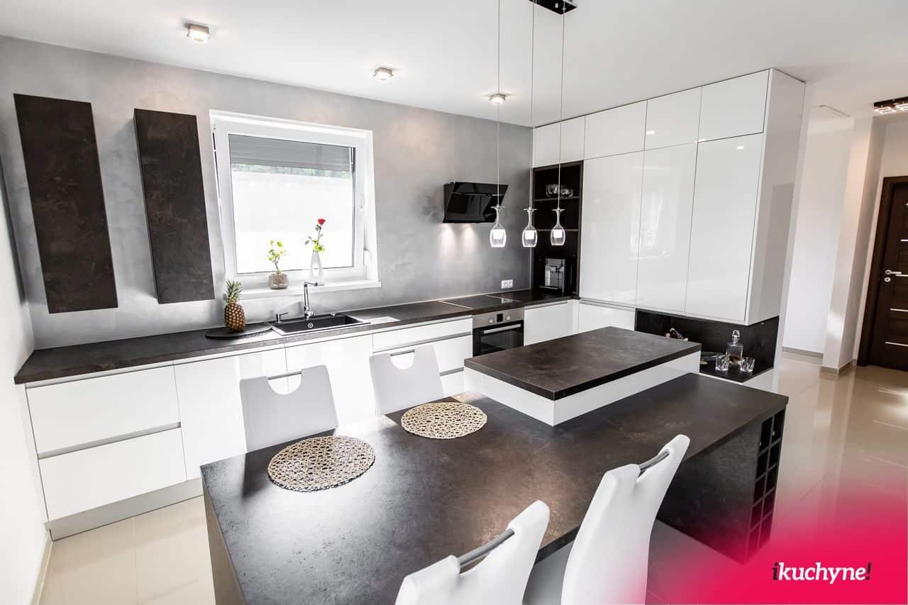 biela kuchyňa Ateliér tmavý