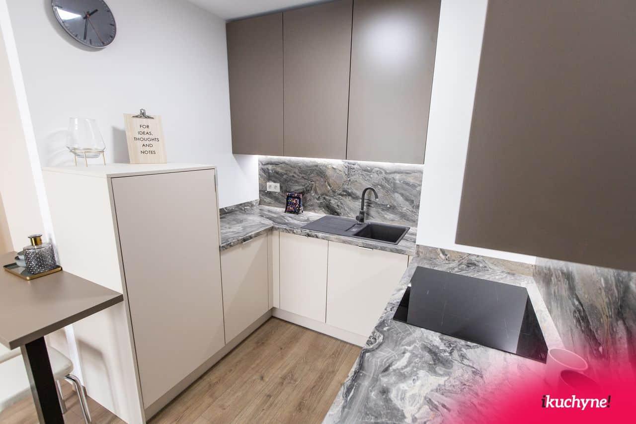 matná minimalistická kuchyňa
