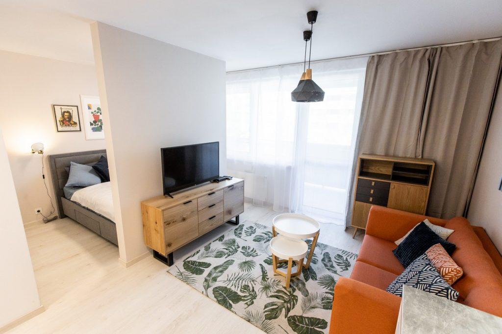 1-izbový byt v projekte Malé Krasňany
