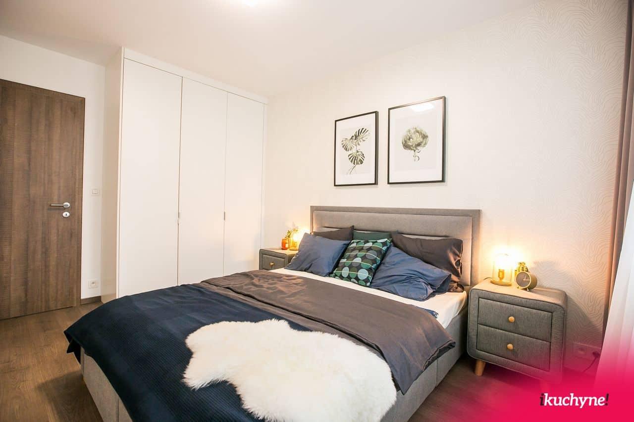 vstavané skrine v spálni