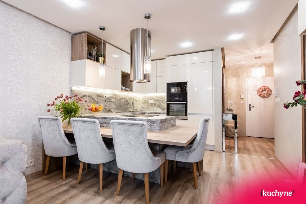 kuchyňa s mramorom