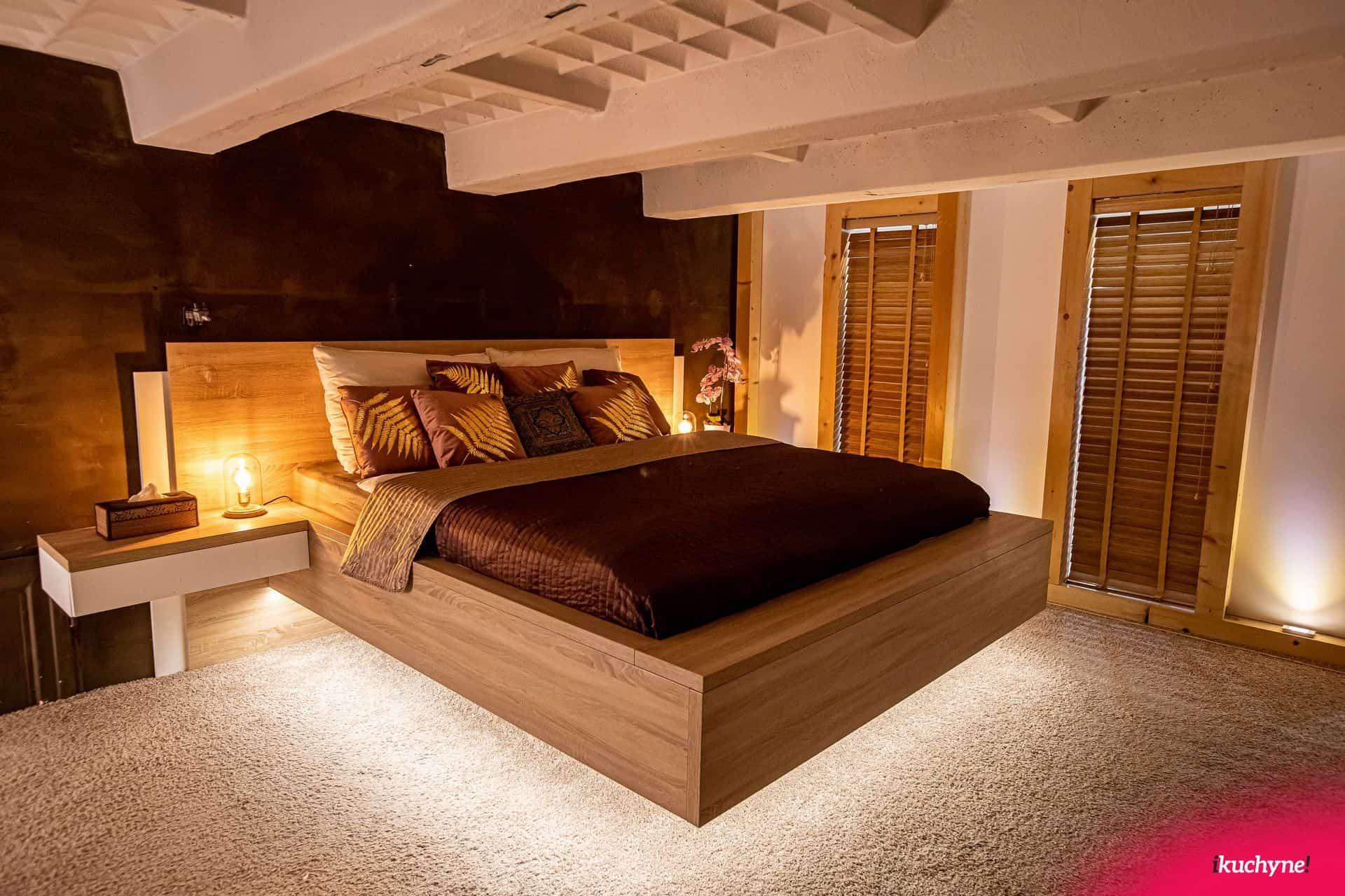 levitujuca postel loft ikuchyne