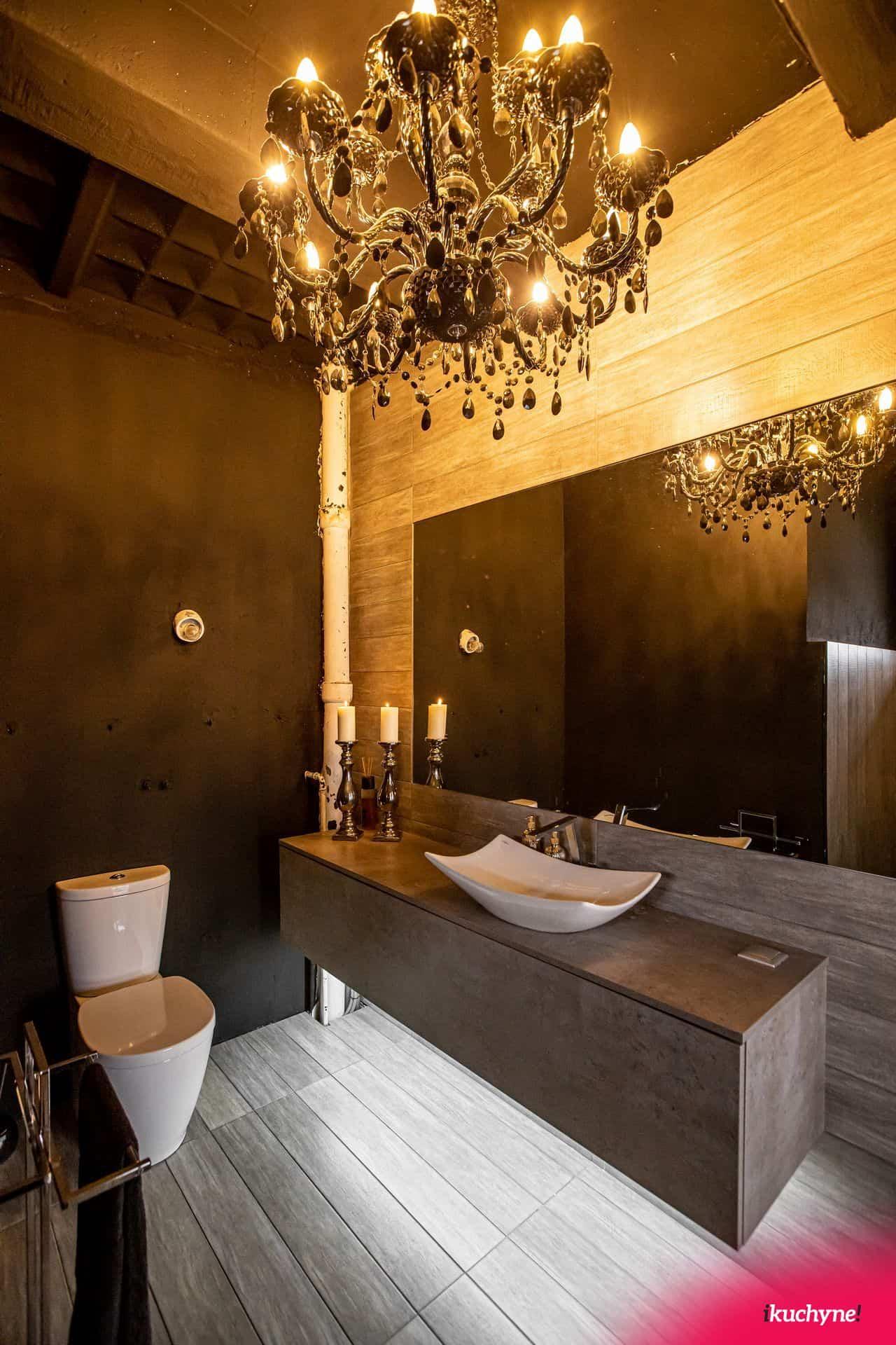 loft toaleta black